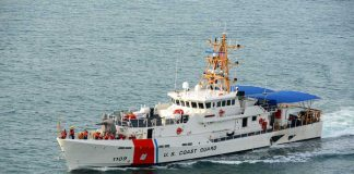 Coast Guard Opens Fire