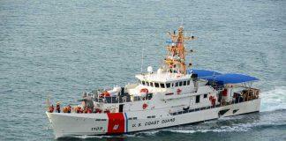 Coast Guard Opens Fire