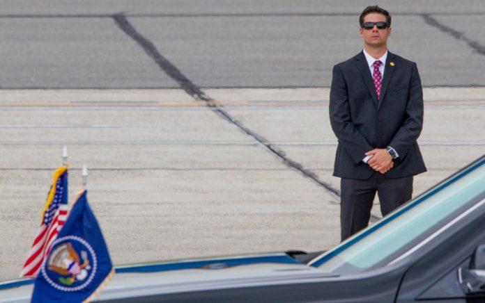 Secret Service Open Fire