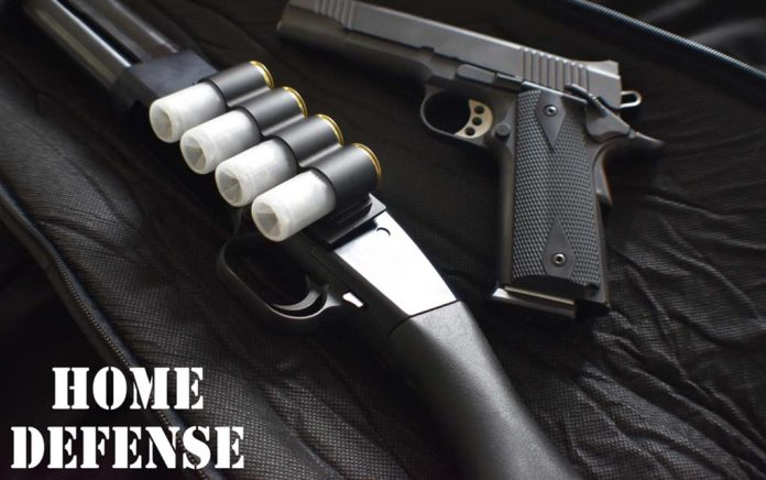 WWII Guns Great For Home Defense