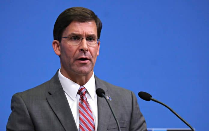 Trump: Mark Esper, You're Fired!